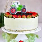 Tort truskawkowo-...