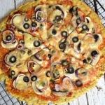 Pizza na kalafiorowym...