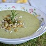 Zupa- krem brokułowy