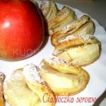 Serowe ciasteczka z jablk...