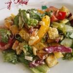 Salatka z Grana Padano wg...