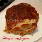 Pieczen wieprzowa w przyp...