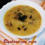 Blyskawiczna zupa pieczar...