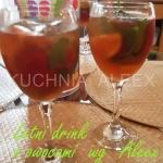 Letni drink z owocami wg...