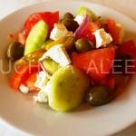 Grecka wiejska sałatka...