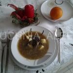 Zupa grzybowa na zurku wg...