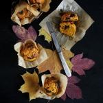 Muffinki dyniowe z czekol...