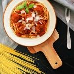 Spaghetti z ziołowymi...
