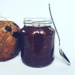 Wegański krem kokosowo-...