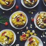 Weganskie muffinki z mali...