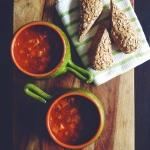 Wegańska zimowa zupa z...