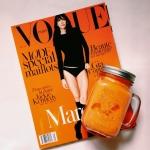 Jesienny sok marchwiowy