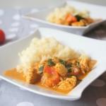 Indyk w curry