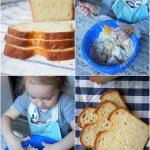 Chleb aksamitny z ricotta...