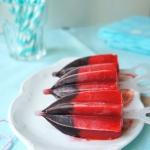 Lody truskawkowo-jagodowe...