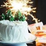 Świąteczny tort.