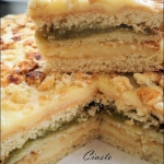 Ciasto jablkowo - budynio...