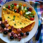 Śródziemnomorski omlet...