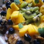 Zdrowe śniadanie w...