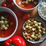 Kremowa zupa pomidorowo...