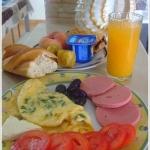 Letnie śniadanie w...