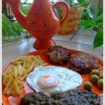Tunezyjski talerz...