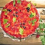 Tort owocowy z pianką...