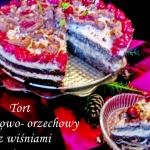 Tort makowo -orzechowy z...