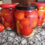 Pomidory w zalewie z...