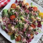 Kolorowa salatka z kurcza...