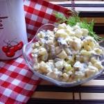 Salatka pieczarkowo-ziemn...