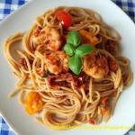 Spaghetti z krewetkami i...