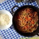 Spaghetti z sosem z...