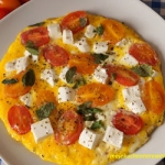 Omlet z pomidorkami,...