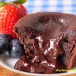 Lava cake - czekoladowy f...