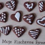 Pierniczki kakaowe serca