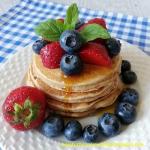 Pełnoziarniste pancakes...
