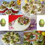 Jajka faszerowane -...