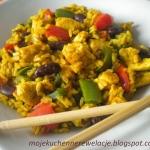 Kurczak z ryżem curry z...