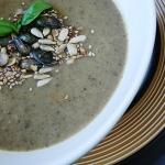 Kremowa zupa z pieczarek ...