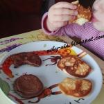 Mini biszkoptowe omleciki...