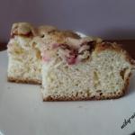 Ciasto drozdzowe z rabrba...