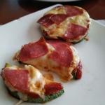 Mini pizze z cukini