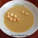 Zupa z selera i jablka