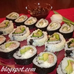 Sushi maki i uramaki
