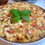 Omlet z gotowanych jajek