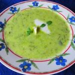 Zupa krem z cukinii z...