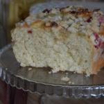 Ciasto drozdzowe z rabarb...