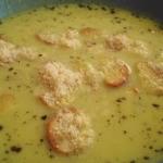 Zupa czosnkowa w bake...