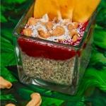Kokosowy pudding chia z m...